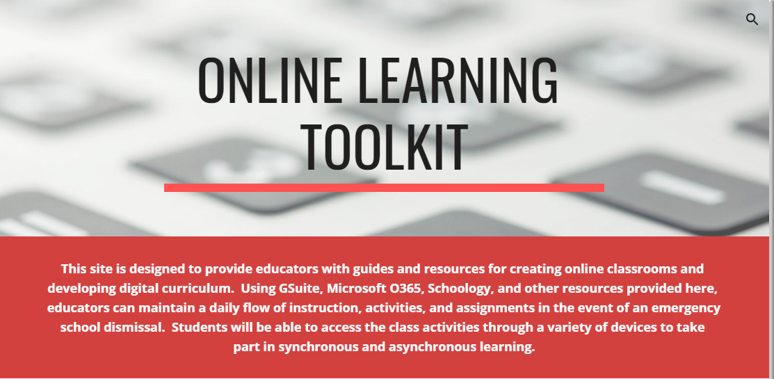 Online Learning Tool Kit