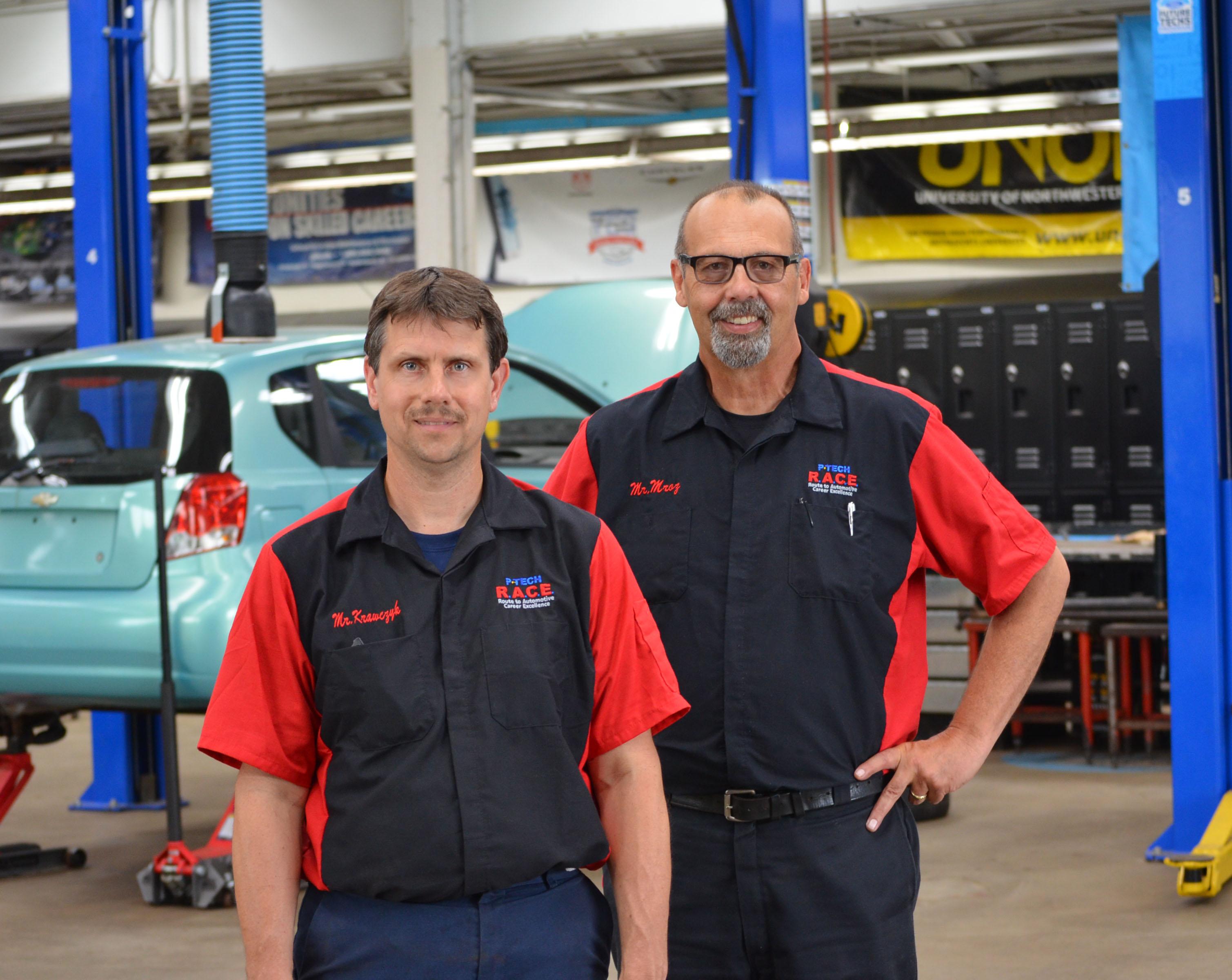 David Krawczyk and Robert Mroz