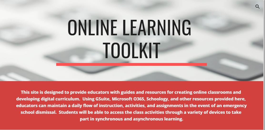 Online Learning Tool Kit